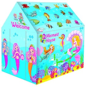 Jumbo Size Mermaid House Plastic Play Tent House for Kids