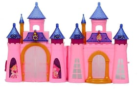 Jusplay 1A CLASTLE PLAYSET princes castel with light n sound Age 4+