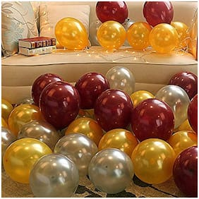 Just rider Balloon Set HD Metallic Balloons  30 Pcs