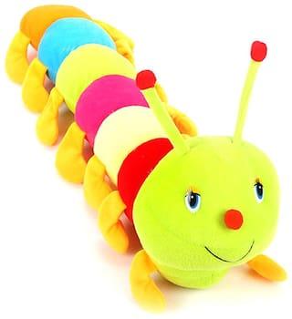 JVL Multicolor Caterpillar Soft Toy  55 CM