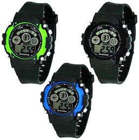 K&U Digital Watch 7LIGHT 66780 Analog-Digital Watch