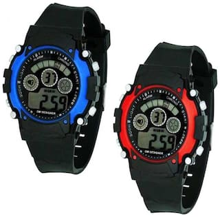 K&U Digital Watch 7LIGHT 66780 Analog-Digital Watch