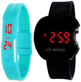 K&UApple LED Digital kids watch with LED Digital band watch PD-22 (Best for Return Gift) Digital Watch