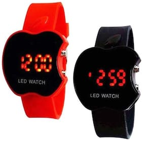 K&UApple LED Digital kids watch with LED Digital band watch PD-17 (Best for Return Gift) Digital Watch