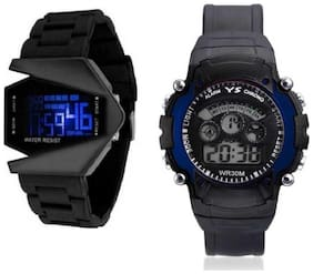 K&UFancy Digital Led Sports Wrist Watch Watch - For Men Analog-Digital Watch