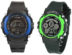K&UVR-7LT-combo_05 - 7 Light Digital Watches Watch For Boys Digital Watch