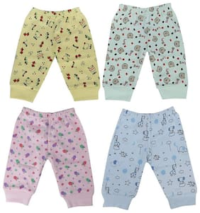 KABOOS Unisex Cotton Printed Pyjama - Multi