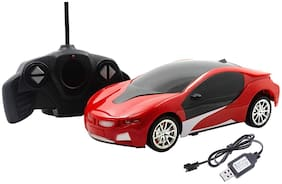 Kaizen Enterprises 1:18 Scale Remote Control Famous car with 3D Lights Full Functions Turns Left, Right, Forward and Reverse, Wireless Remote, high Speed, for Kids Boys,(Colour May Vary)
