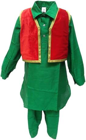 KAKU FANCY DRESSES Boys Costumes Costume - Green