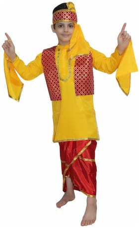 KAKU FANCY DRESSES Boys Costumes Costume - Yellow