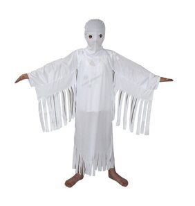 Kaku Fancy Dresses White Ghost Halloween California Costume For Kids School Annual function/Theme Party/Competition/Stage Shows/Birthday Party Dress