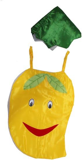 Kaku Fancy Dresses Mango Cutout With Cap For Kids