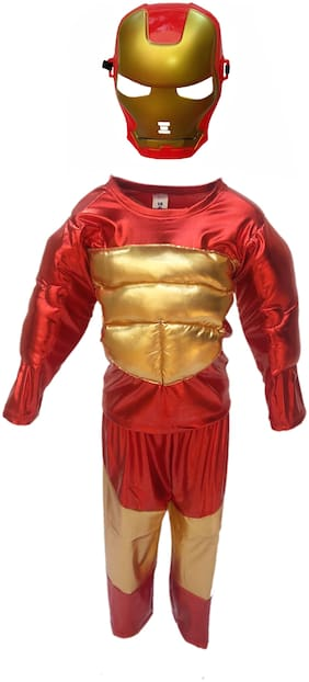 KAKU FANCY DRESSES Boys Costumes Costume - Red