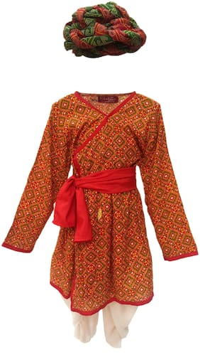 KAKU FANCY DRESSES Boys Costumes Costume - Red