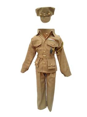 f95193a0f264 Kaku Fancy Dresses Our Community Helper Police Man Costume -Khaki, 8-9 Years