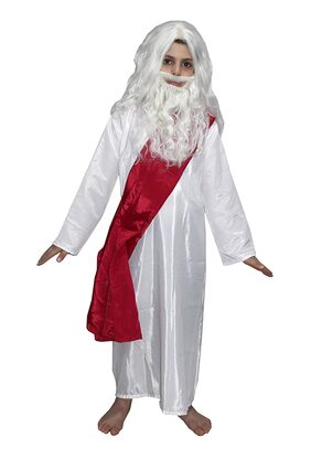 Kaku Fancy Dresses Rabindranath Tagore National Hero Costume For Kids School Annual function/Theme Party/Competition/Stage Shows Dress