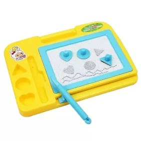 Kanchan Toys Magic Slate Amazing Toy For Kids Yellow