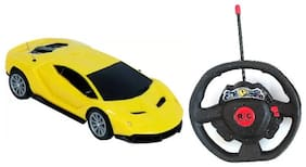 Kanchan Toys Steering Swaty Remote Control Car For Kids