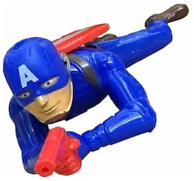Kanchan Toys Captain America Crawling Figure For Kids