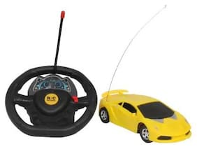 Kanchan Toys Steering Cool Remote Control Car For Kids
