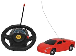 Kanchan Toys Steering Remote Control Car For Kids