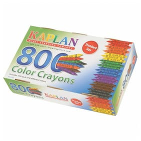 Kaplan Early Learning Standard Crayons Class Pack - 800 Per Box