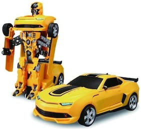 KARLOS Deformed chariot light and music , Car to Robot Transformer Toy for Kids