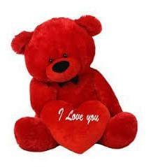 KASHISH GIFT GALLERY Red Teddy Bear - 80 cm