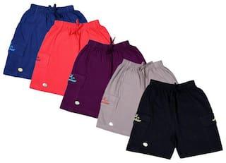 Kavin Boy Solid Shorts - Multi