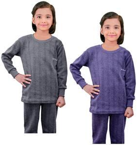 Kavya Thermal For Unisex - Blue & Grey , 2