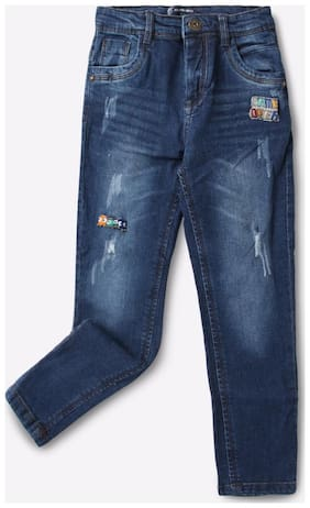 KB TEAM SPIRIT By Reliance Trends Blue Boys Jeans