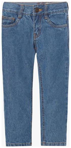 KB TEAM SPIRIT By Reliance Trends Boy's Regular fit Jeans - Blue