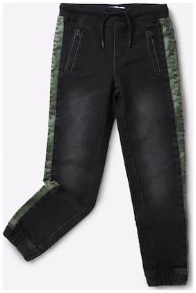 KB TEAM SPIRIT By Reliance Trends Black Boys Jeans