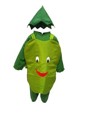 KFD Capsicum fancy dress for kids;Vegetables Costume for Annual function/Theme Party/Competition/Stage Shows Dress