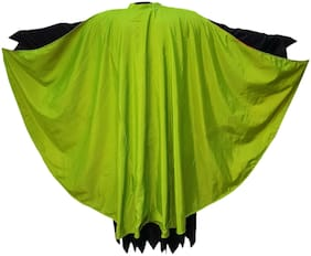 KFD Halloween Cape in Green color for adult