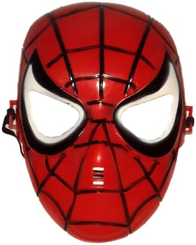 KFD Spiderman Face Accessories for kids;Boys and Girls
