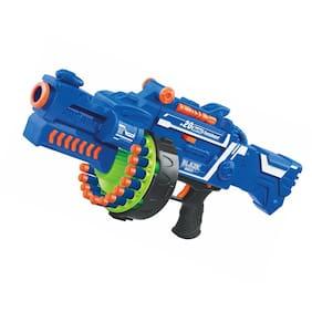 Kgint Kids Plastic Blaze Storm Soft Bullet Automatic Gun With 40 Darts Included