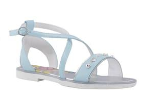 Khadim's Blue Girls Slippers