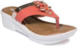 Khadim's Pink Girls Sandals