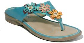 Khadim's Blue Girls Sandals
