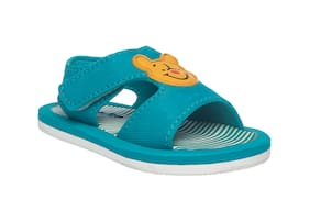 Khadim's Blue Sandals For Infants
