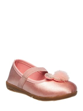 Khadim's Pink Ballerinas For Girls