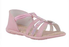 Khadim's Pink Girls Slippers