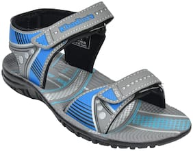 Khadim's Grey Boys Sandals