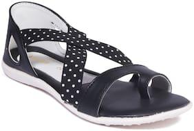 Khadim's Black Girls Sandals