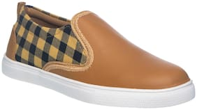 Khadim's Beige Canvas shoes for boys