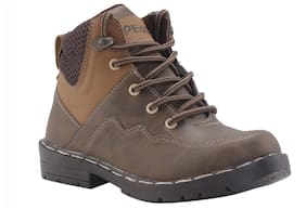 Khadim's Brown Boys Boots