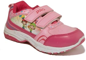 Khadim's Pink Casual Shoes For Girls