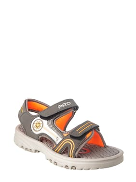 Khadim's Pro Boy Grey Casual Floater Sandal