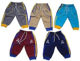 Khwahish Boy Printed Shorts & 3/4ths - Multi
